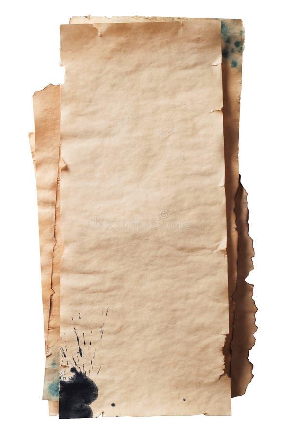Grunge papper royaltyfri bild