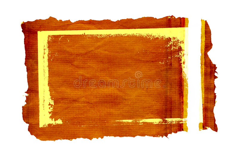 Grunge parchment frame 2 vector illustration