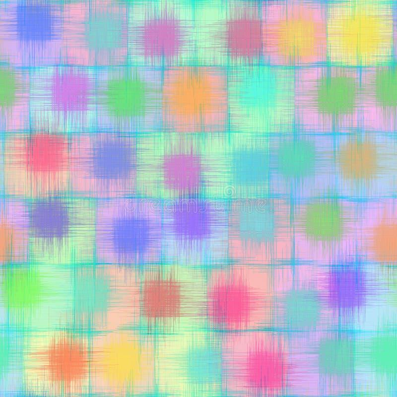 Grunge Pastell löscht Muster lizenzfreie abbildung