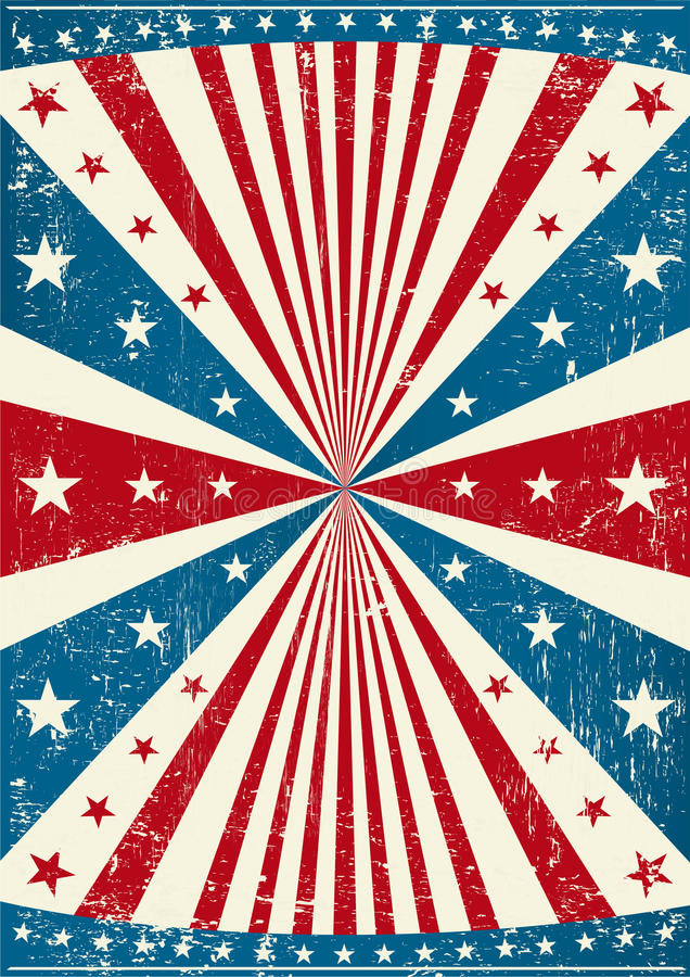 Download Grunge Patriotic Poster Stock Images - Image: 21142244