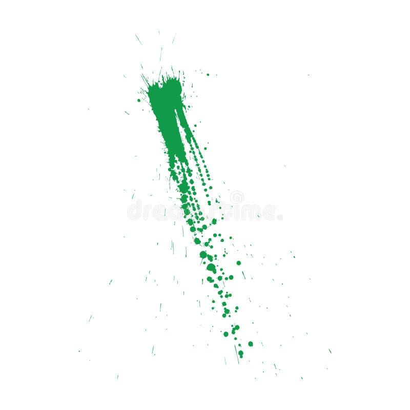 Grunge pattern. Color on white. Vector illustration vector illustration