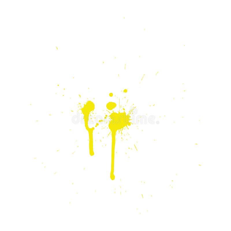 Grunge pattern. Color on white. Vector illustration royalty free illustration
