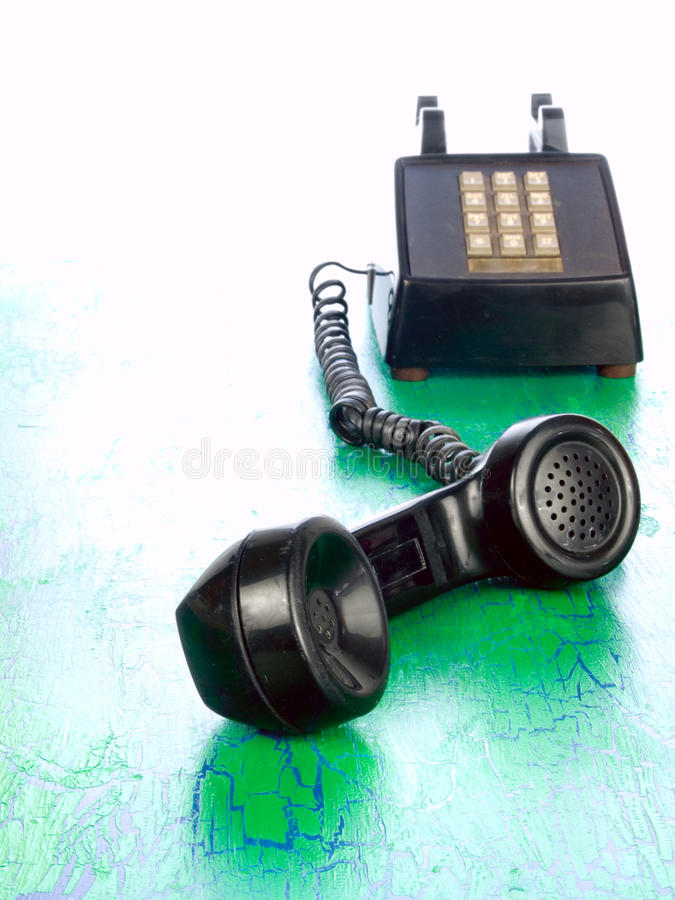 Download Grunge Phone From Around 1970 Stock Photo - Image: 12247712