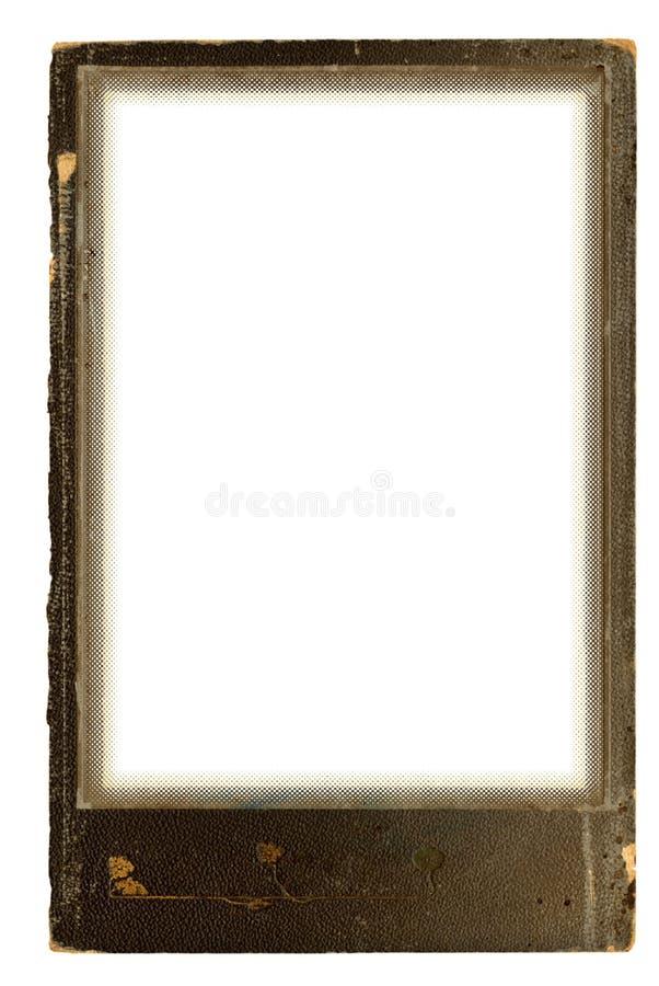 Grunge photo frame royalty free illustration