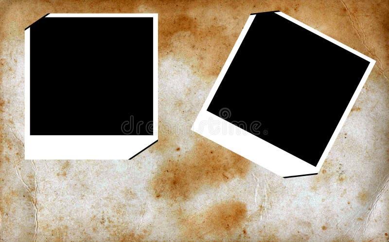Grunge photo frames royalty free stock photo