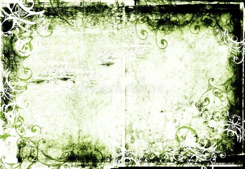 Grunge photographic frame stock illustration