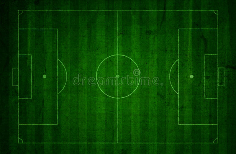 Grunge piłki nożnej smoły tło ilustracja wektor