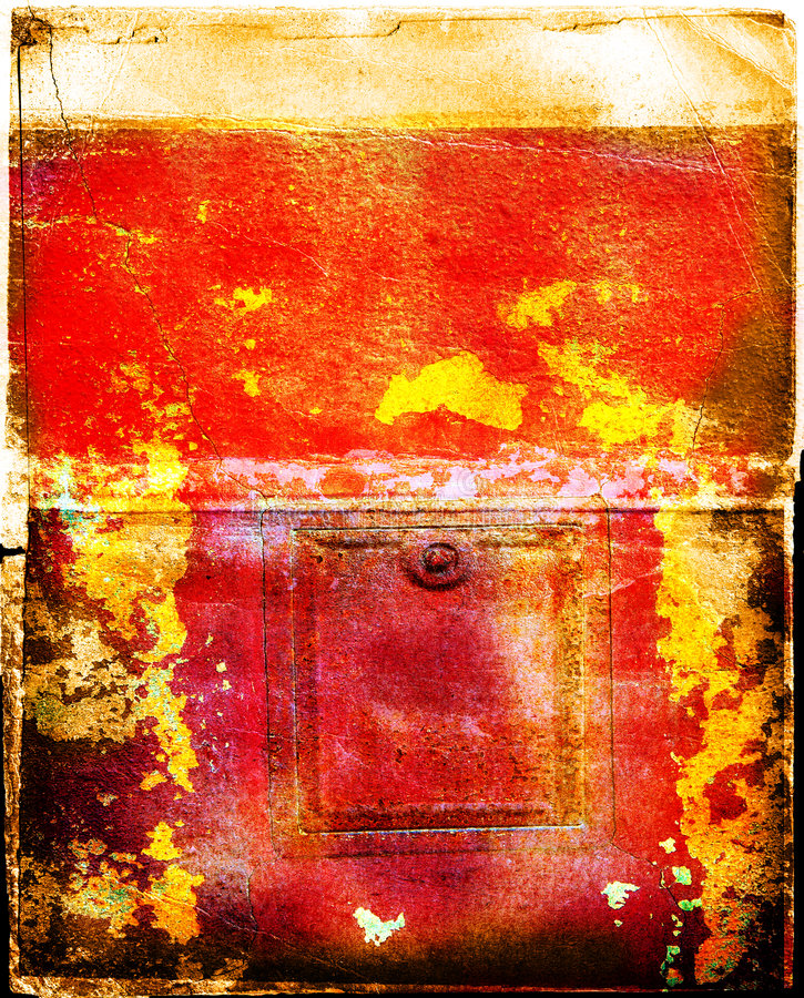 Grunge pintó el fondo foto de archivo libre de regalías