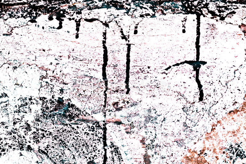 Grunge pintó la pared de ladrillo ilustración del vector