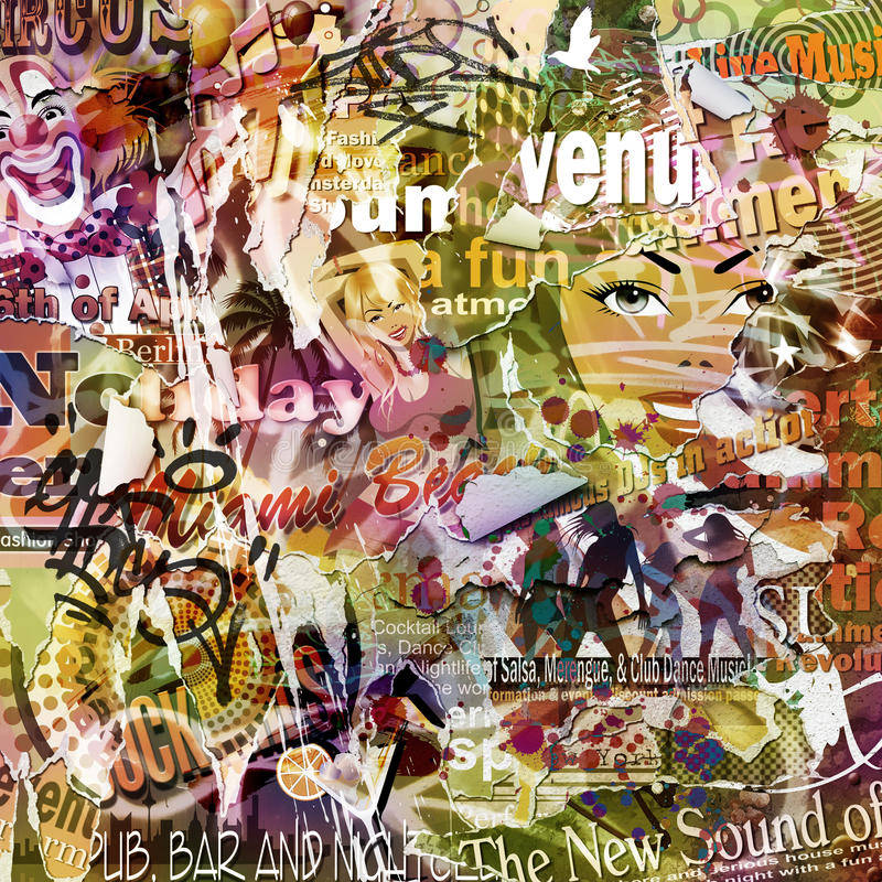Grunge Plakat-Hintergrund vektor abbildung
