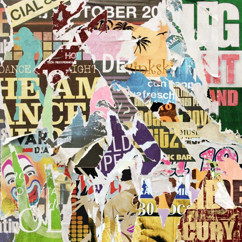 Grunge Plakat-Hintergrund stockfotos