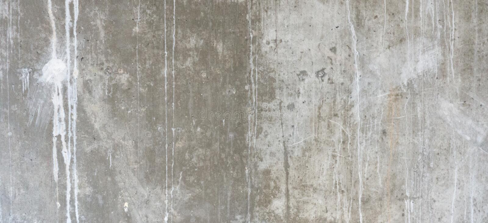 Plastered cement concrete wall background texture stock images