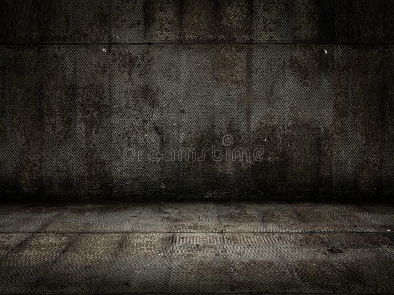 Grunge pokój ilustracji