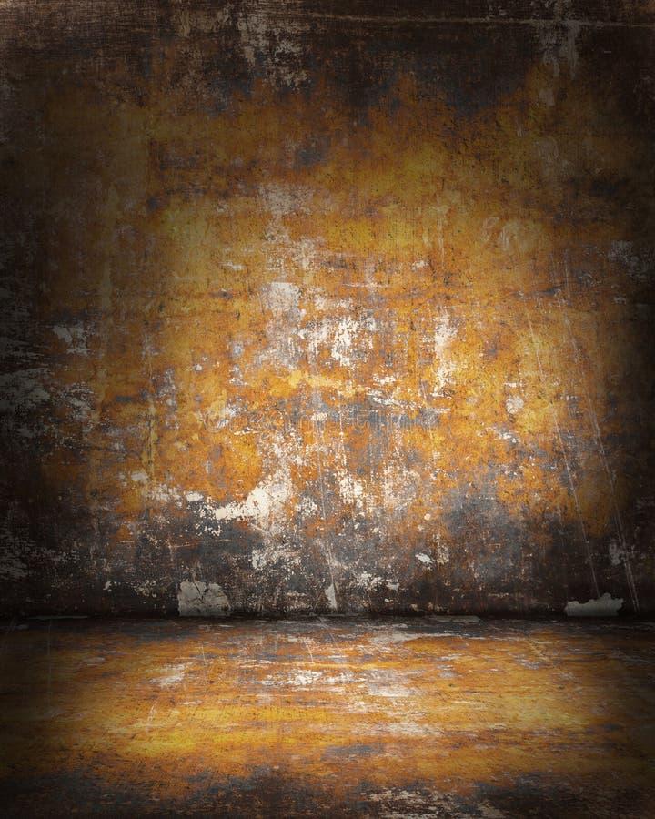 Download Grunge pokój obraz stock. Obraz złożonej z wzór, wyznaczający - 28960999