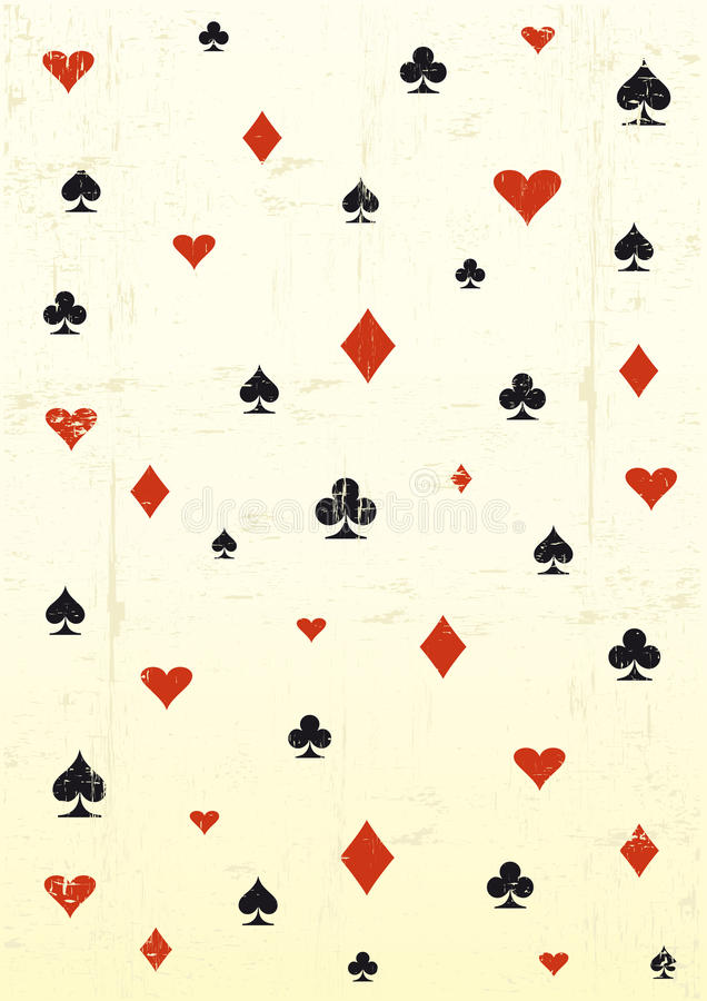 Grunge poker wallpaper