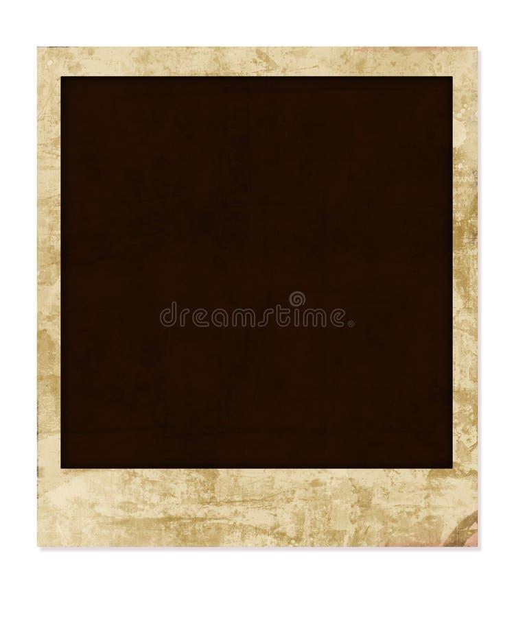 grunge polaroid royalty ilustracja