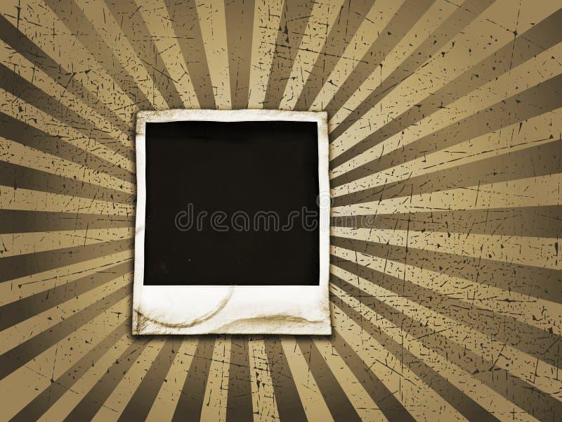 grunge polaroid απεικόνιση αποθεμάτων