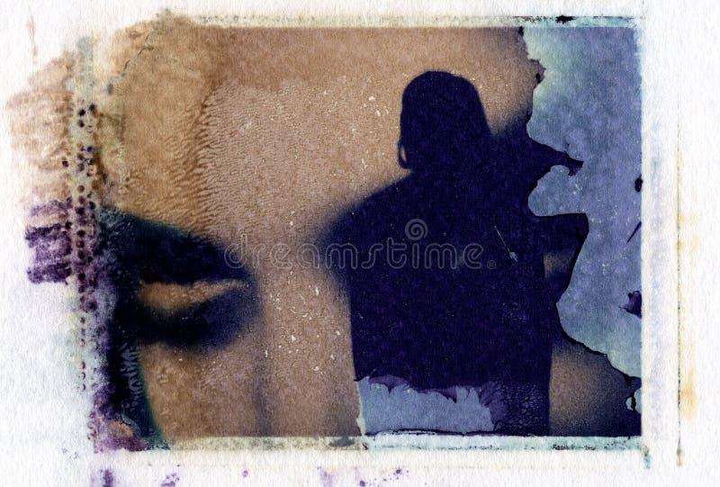 Grunge polaroid royalty free stock images