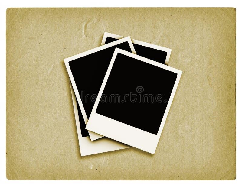 grunge polaroids ελεύθερη απεικόνιση δικαιώματος
