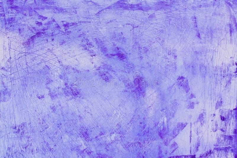Grunge pourpre rose de plâtre sur la texture concrète de fond de ciment photo libre de droits