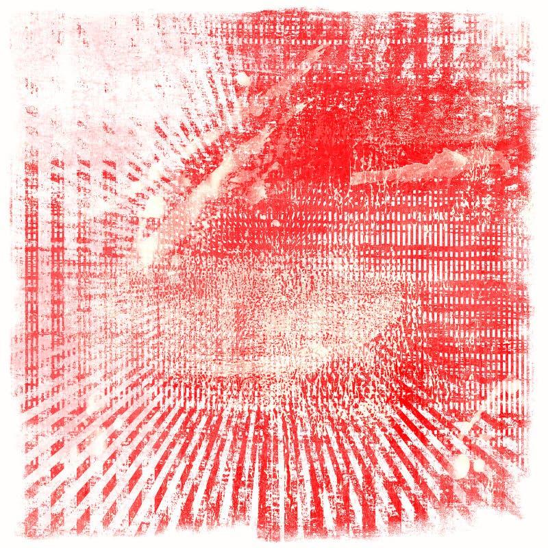 Grunge promieni tła tekstura ilustracja wektor