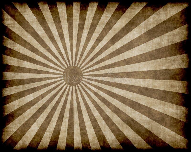 grunge prześlijcie promieni słońca ilustracji