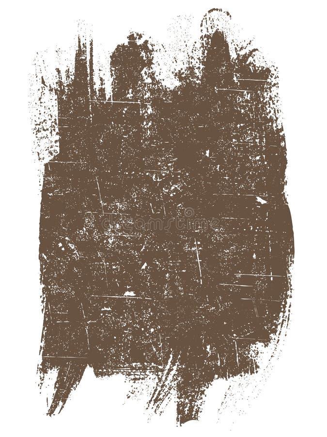 Grunge Quadrat   stock abbildung