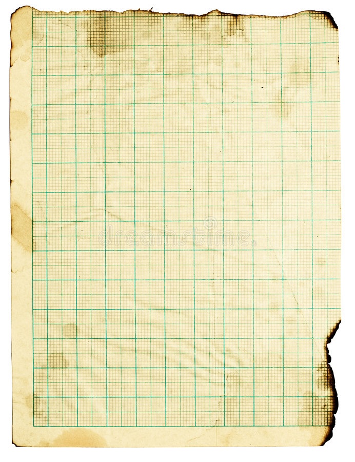 Grunge quadriertes Papier lizenzfreies stockbild