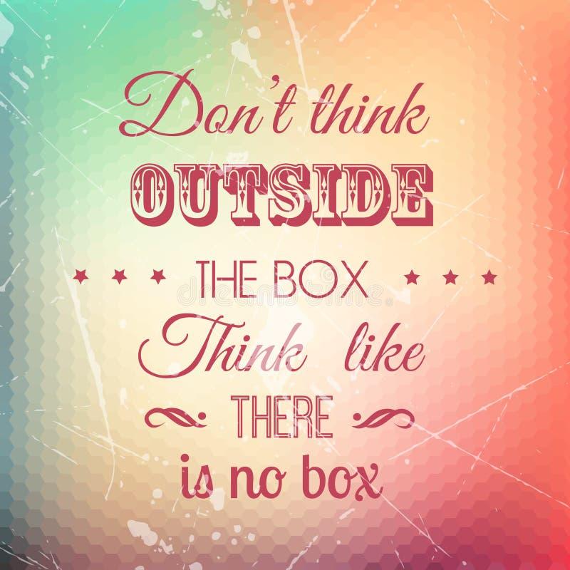 Grunge quote background vector illustration