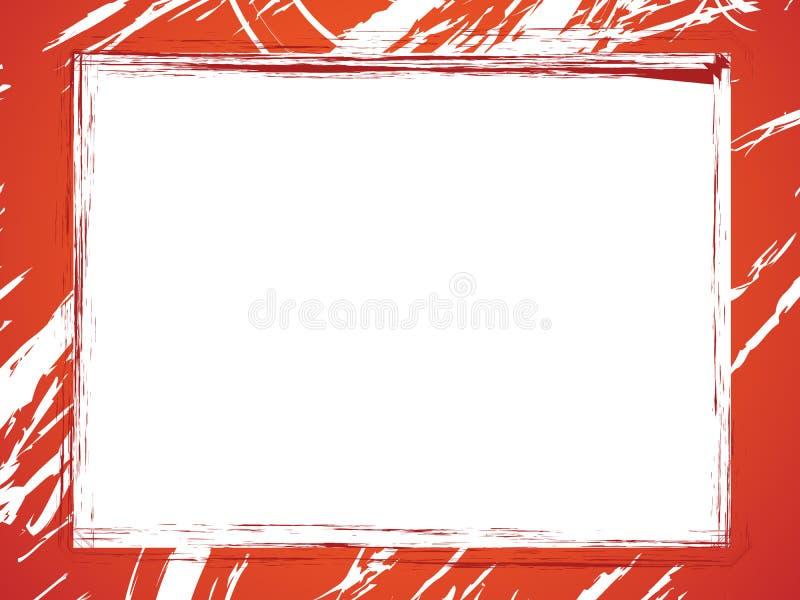 Download Grunge rabatowa czerwień ilustracja wektor. Ilustracja złożonej z kolor - 13329311