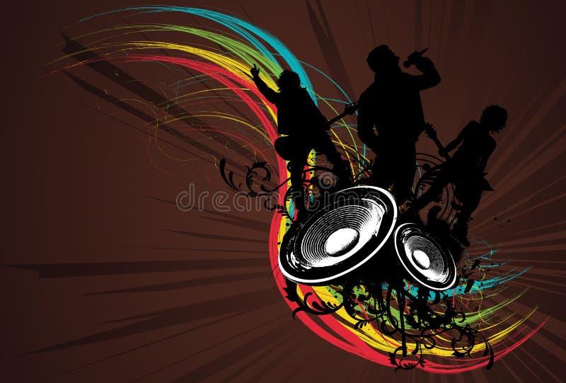 Download Grunge Rainbow Rock Band Royalty Free Stock Image - Image: 5779306