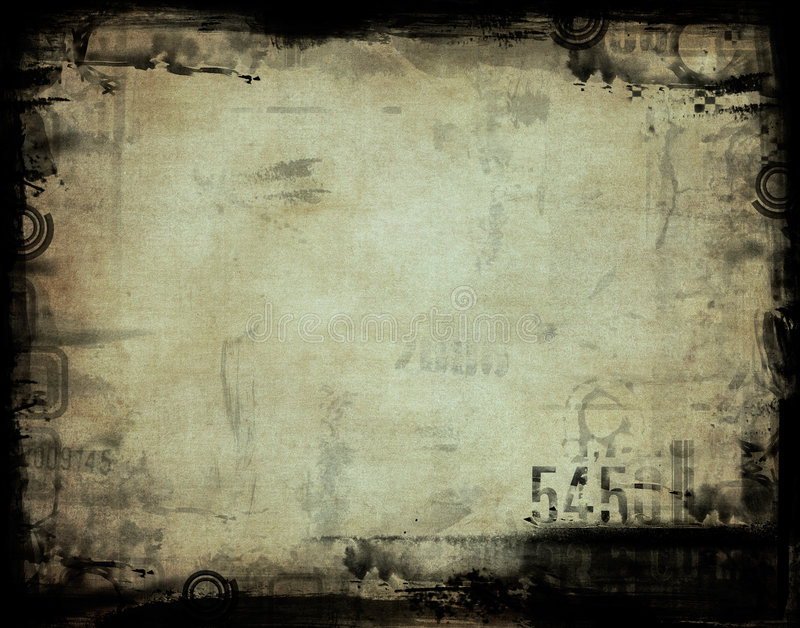 Grunge rama royalty ilustracja