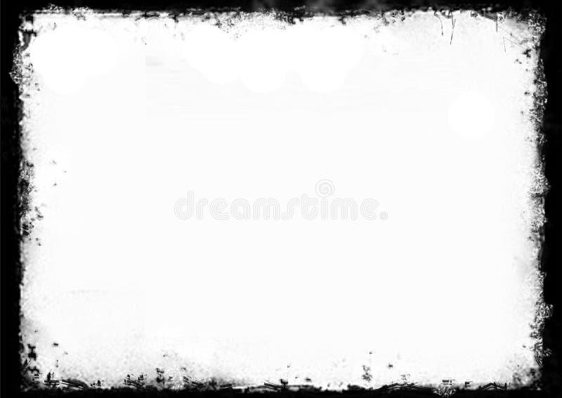 Grunge rama fotografia stock