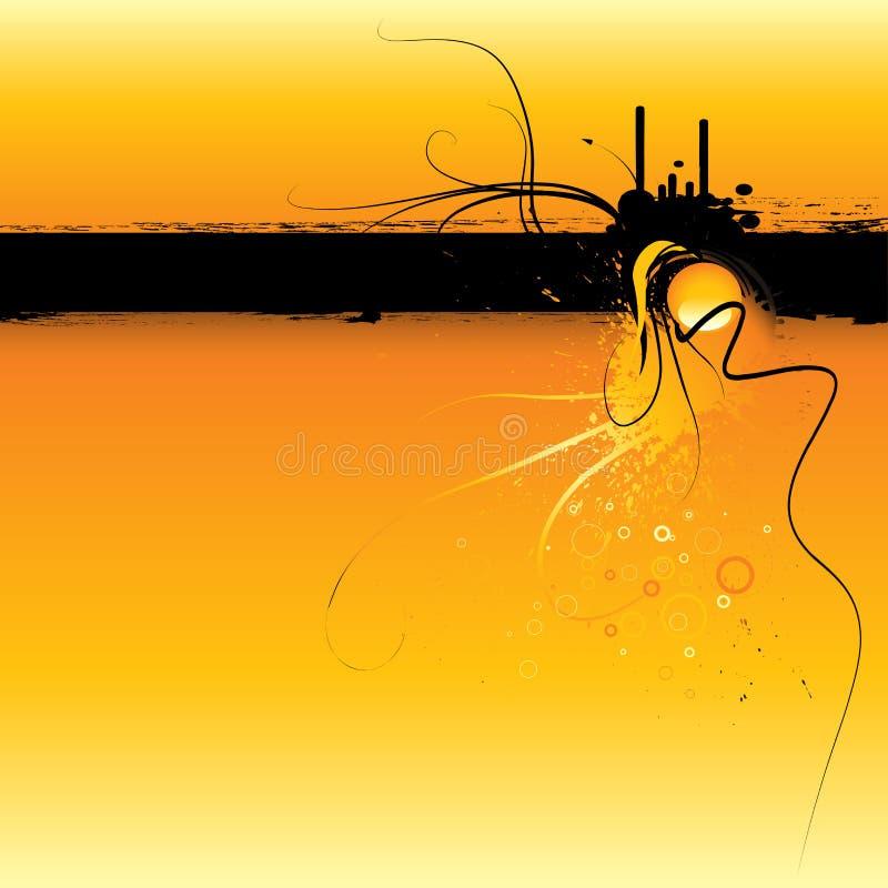 grunge ramowy słońca