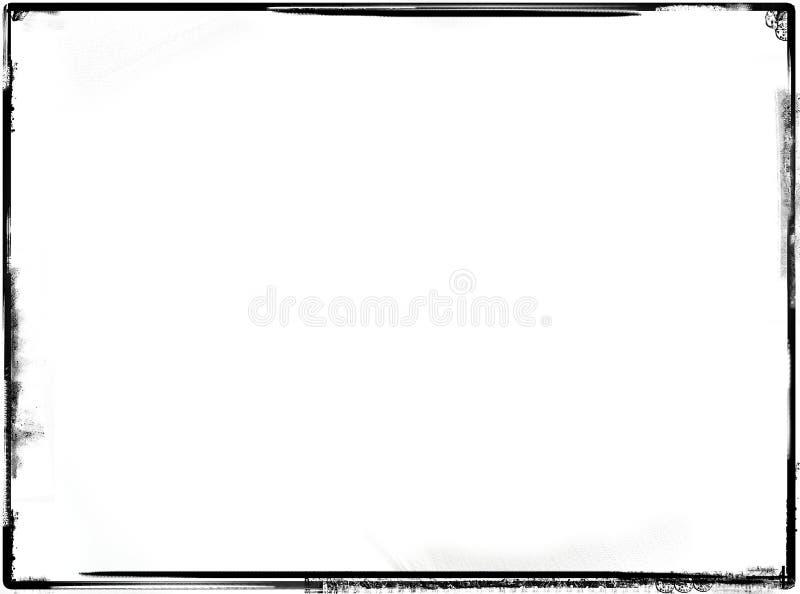 Grunge Rand stock abbildung