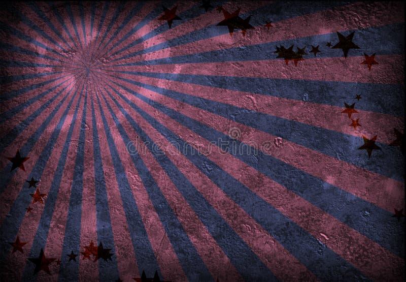 Grunge Rays vector illustration