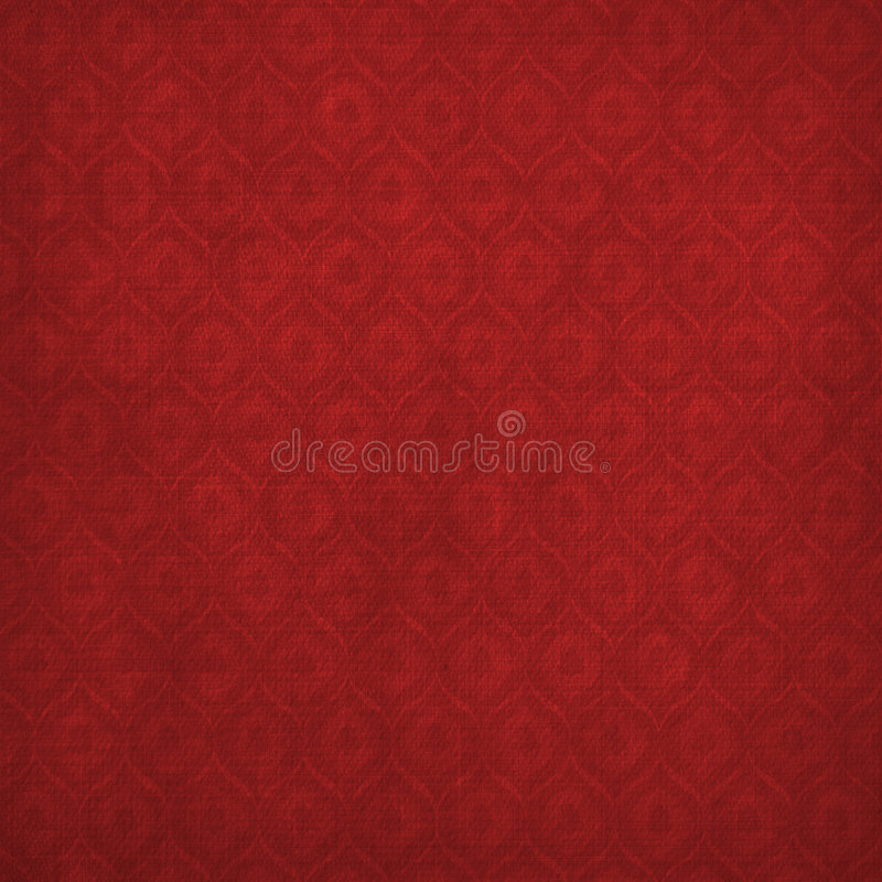 Download Grunge Red Background With Ancient Ornament Stock Illustration - Image: 6982246