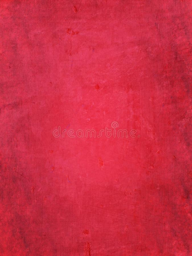 Grunge red background royalty free illustration
