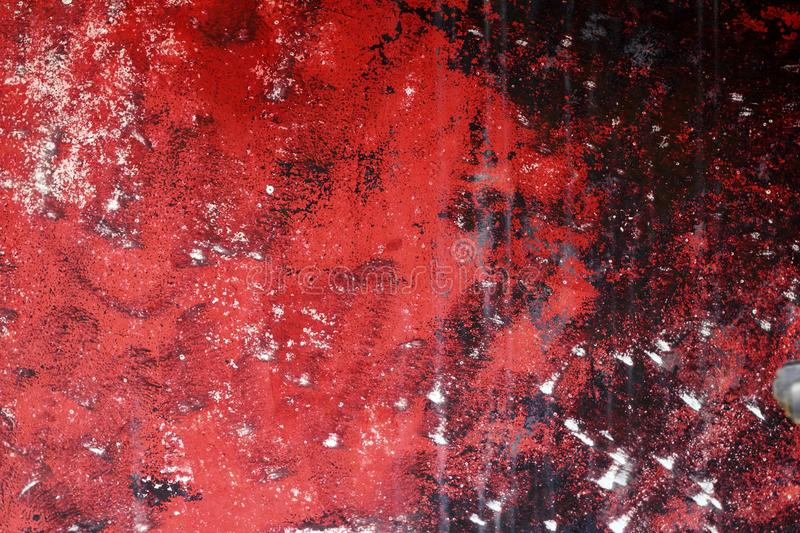 Grunge red and black aged wall texture background royalty free stock photos