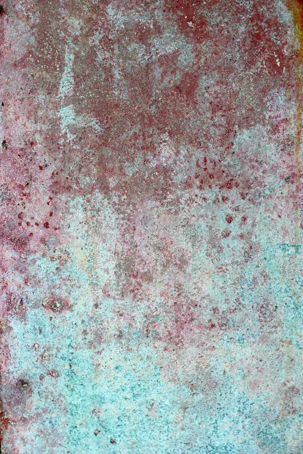 Download Grunge Red Green Aged Paint Wall Texture Royalty Free Stock Image - Image: 14562916