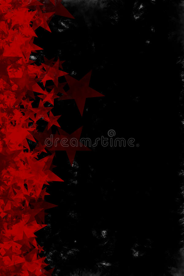 Download Grunge Red Stars Background Stock Illustration - Image: 17429864