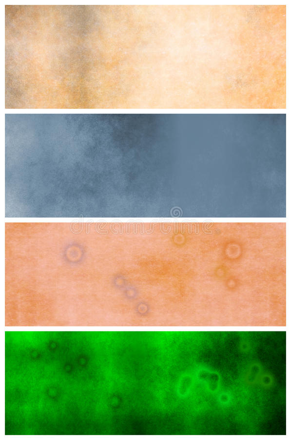 Grunge Retro Backgrounds Or Headers Stock Photography