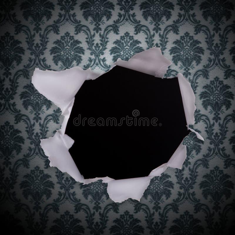 Grunge Retro- Weinlese-Tapetenhintergrund lizenzfreie abbildung