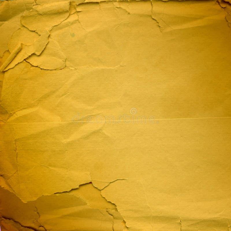 Grunge riß zerknittertes Papier für Auslegung auf lizenzfreie abbildung
