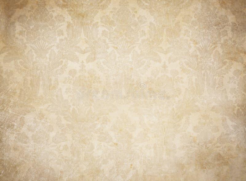 Grunge rocznika tła tapetowy wzór ilustracja wektor