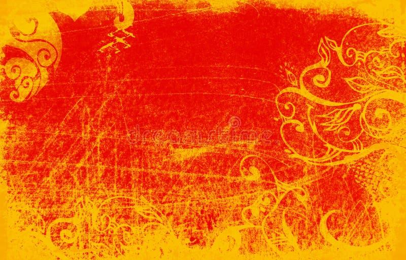 Grunge rojo libre illustration
