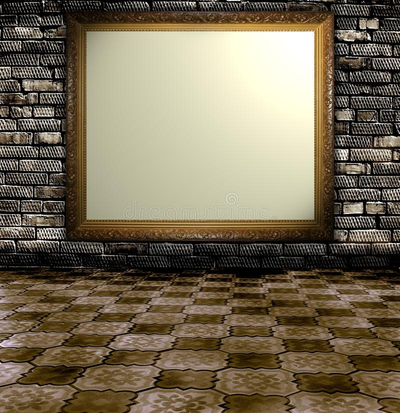 Grunge Room Stock Image
