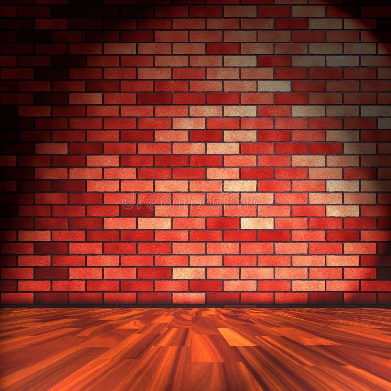 Download Grunge room stock illustration. Image of house, brick - 17972844