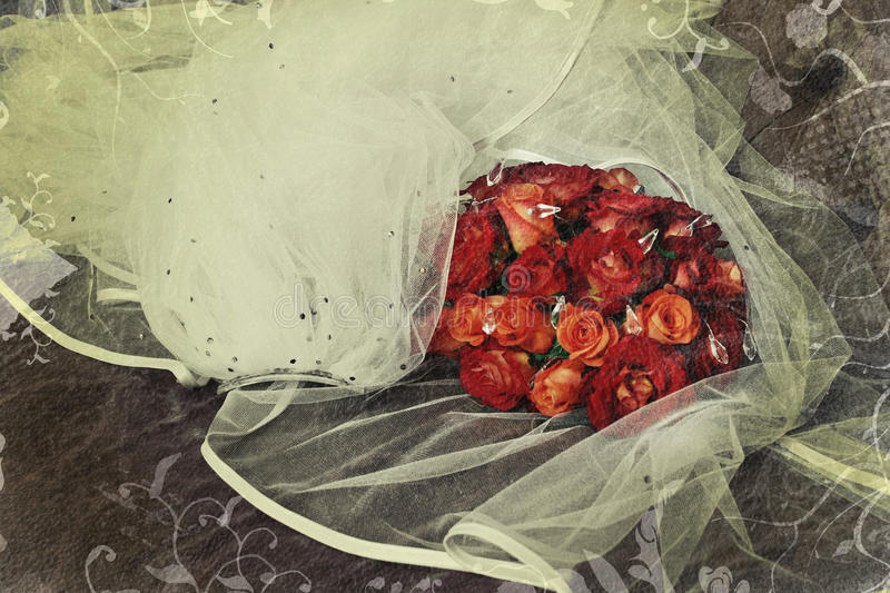 Download Grunge roses stock image. Image of roses, beautiful, texture - 17852499