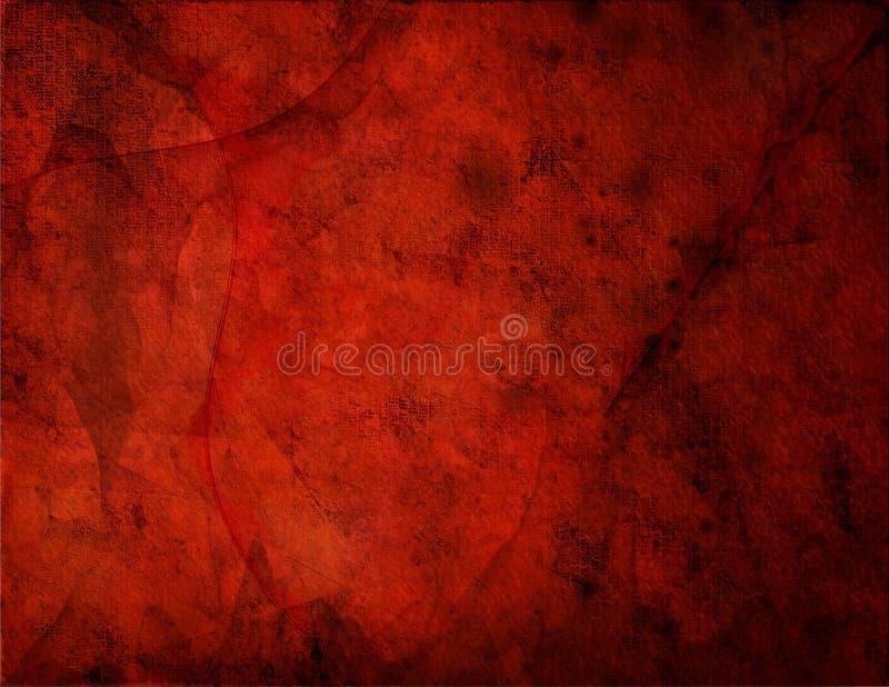 Grunge rosso